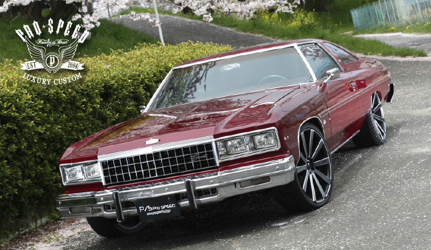 1975y CHEVROLET CAPRICE COUPE